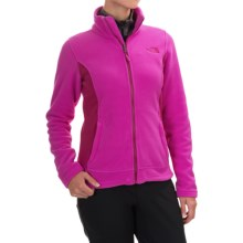 The North Face Khumbu Fleece Jacket (For Women) in Luminous Pnk/Dramatic Plum - Closeouts