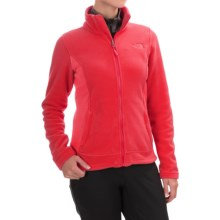 The North Face Khumbu Fleece Jacket (For Women) in Melon Red/Radiant Orange - Closeouts