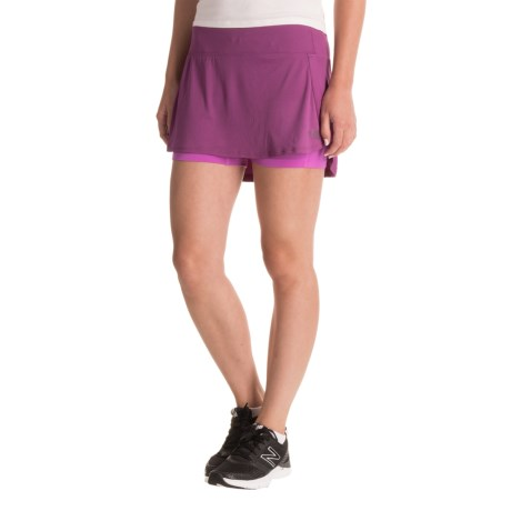 The North Face Kick Up Dust Skort (For Women) in Wood Violet/Sweet Violet