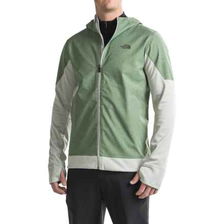 The North Face Kilowatt Jacket (For Men) in Duck Green Heather/Wrought Iron - Closeouts