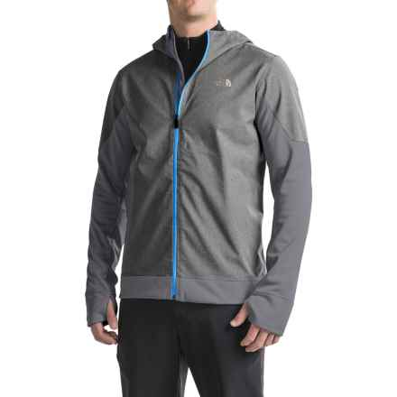 The North Face Kilowatt Jacket (For Men) in Tnf Dark Grey Heather/Blue Aster - Closeouts