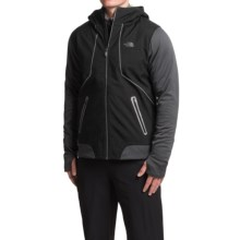 The North Face Kilowatt Jacket - Hooded (For Men) in Tnf Black/Asphalt Grey - Closeouts