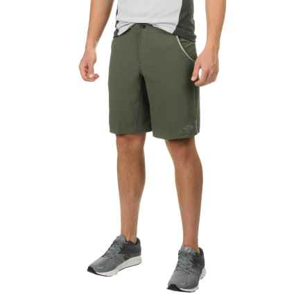 "The North Face Kilowatt Pro Shorts - 10"" (For Men) in Climbing Ivy Green/Chive Green - Closeouts"