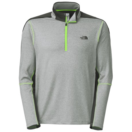 The North Face Kilowatt Pullover Shirt Zip Neck, Long Sleeve (For Men)