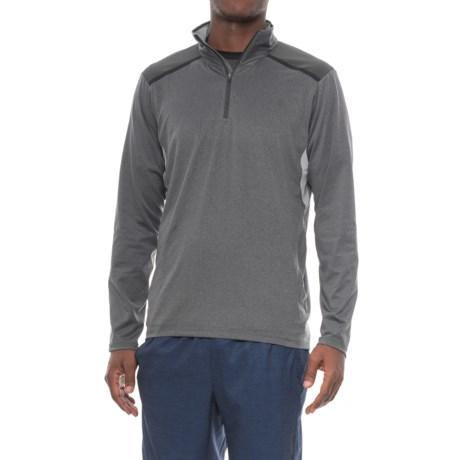 The North Face Kilowatt Shirt - Zip Neck, Long Sleeve (For Men) in Mid Grey