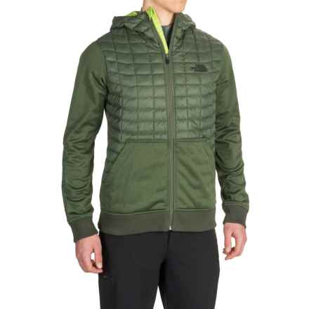 The North Face Kilowatt ThermoBall® Hooded Jacket - Insulated (For Men) in Climbing Ivy Green - Closeouts