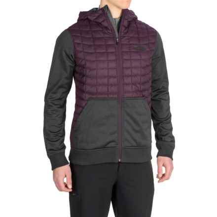 The North Face Kilowatt ThermoBall® Hooded Jacket - Insulated (For Men) in Knight Purple/Asphalt Grey - Closeouts