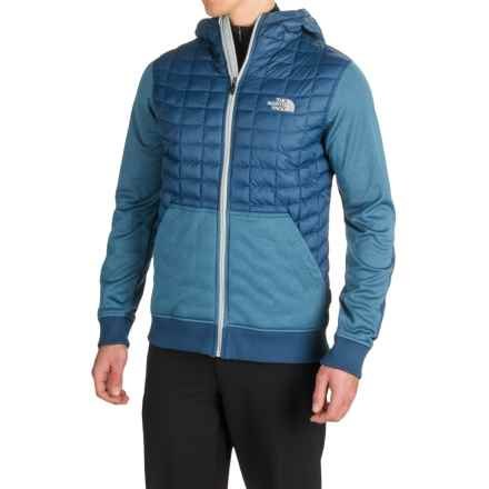 The North Face Kilowatt ThermoBall® Hooded Jacket - Insulated (For Men) in Shady Blue - Closeouts