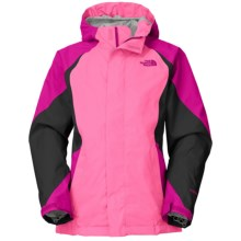 The North Face Kira Triclimate® Ski Jacket - Waterproof, Insulated, 3-in-1 (For Little and Big Girls) in Luminous Pink - Closeouts