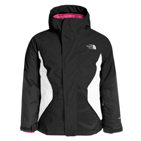 The North Face Kira Triclimate® Ski Jacket - Waterproof, Insulated, 3-in-1 (For Little and Big Girls) in Tnf Black