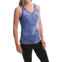 The North Face Kokomo Burnout Tank Top - V-Neck (For Women) in Coastline Blue/Coastline Blue - Closeouts