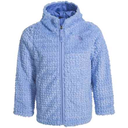 The North Face Laurel Fleece Hoodie (For Toddler Girls) in Grapemist Blue - Closeouts