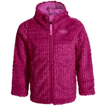 The North Face Laurel Fleece Hoodie (For Toddler Girls) in Roxbury Pink - Closeouts