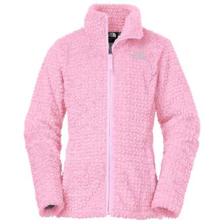 The North Face Laurel Fleece Jacket (For Little and Big Girls) in Coy Pink - Closeouts