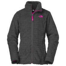 The North Face Laurel Fleece Jacket (For Little and Big Girls) in Graphite Grey - Closeouts