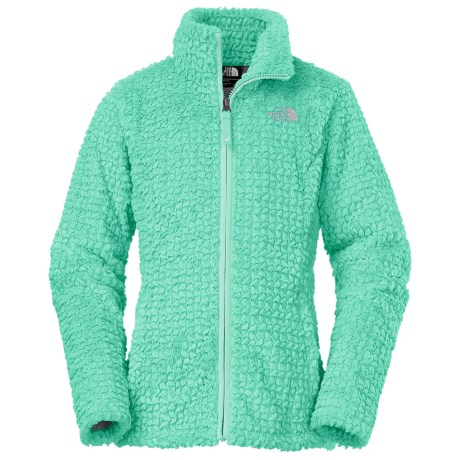 The North Face Laurel Fleece Jacket (For Little and Big Girls) in Ice Green
