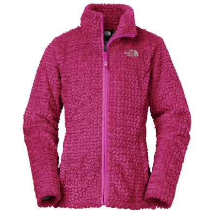 The North Face Laurel Fleece Jacket (For Little and Big Girls) in Roxbury Pink - Closeouts