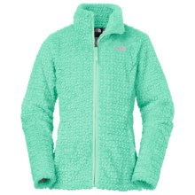 The North Face Laurel Fleece Jacket (For Little and Big Girls) in Surf Green - Closeouts