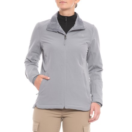 5c3979d8ad The North Face Lisie Raschel Jacket (For Women) in Mid Grey - Closeouts