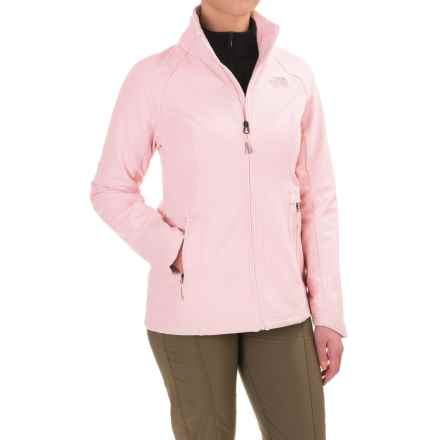The North Face Lisie Raschel Soft Shell Jacket (For Women) in Purdy Pink - Closeouts