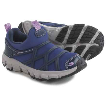 The North Face Litewave Shoes (For Toddlers and Little Kids) in Inauguration Blue/Lupine - Closeouts