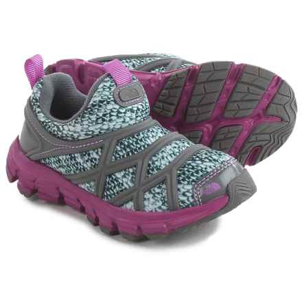 The North Face Litewave Shoes (For Toddlers and Little Kids) in Knotty Knit Print/Wisteria Purple - Closeouts