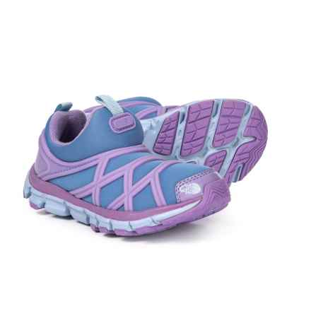 The North Face Litewave Shoes - Slip-Ons (For Girls) in Paisily Purple/ Province Blue - Closeouts