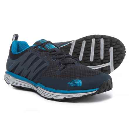 The North Face Litewave TR II Trail Running Shoes (For Men) in Urban Navy/Seaport Blue - Closeouts