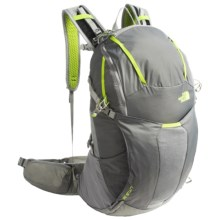 The North Face Litus 32 Backpack in Zinc Grey/Macaw Green - Closeouts