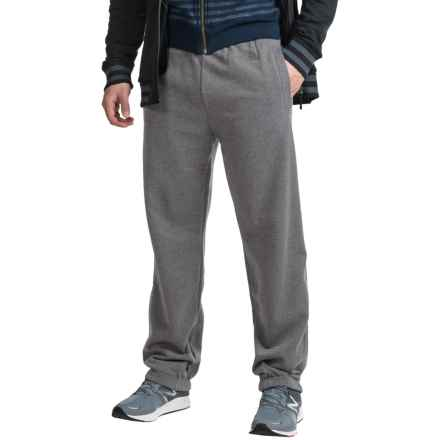 The North Face Logo Sweatpants - Cotton Blend (For Men) in Tnf Medium Grey Heather(Std) - Closeouts