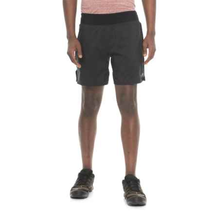 "The North Face Long Haul Shorts - 7"", Built-In Liners (For Men) in Tnf Black - Closeouts"