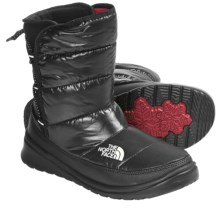 The North Face Lorette Winter Boots - Insulated (For Women) in Shiny Tnf Black/Tnf Black - Closeouts
