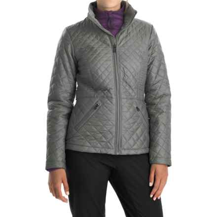 The North Face Luna Jacket - Insulated (For Women) in Sedona Sage Grey - Closeouts