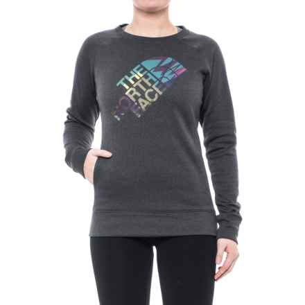 The North Face Ma Amazie Mays Shirt - Long Sleeve (For Women) in Tnf Dark Grey Heather - Closeouts