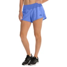 The North Face Ma-X Shorts - Built-In Briefs (For Women) in Coastline Blue Heather/Coastline Blue - Closeouts
