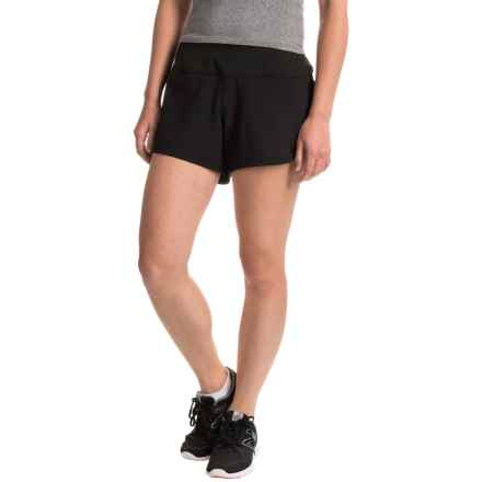 The North Face MA-X Shorts - Built-In Liner (For Women) in Tnf Black - Closeouts