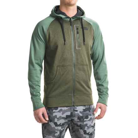 The North Face Mack Mays Hoodie - Zip Front (For Men) in Climbing Ivy Green Dark Heather (Std)/Duck Green - Closeouts