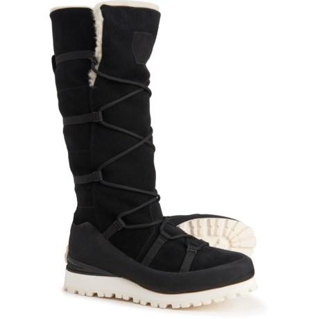 Italy Cryos Tall Wedge Hiking Boots