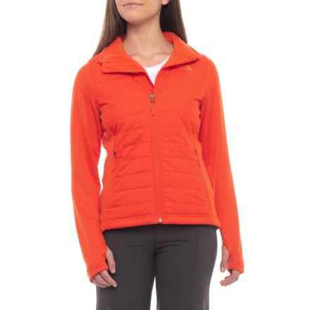 The North Face Mashup Jacket - Insulated (For Women) in Fire Brick Red - Closeouts