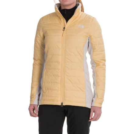 The North Face Mashup Parka - Insulated (For Women) in Gloden Haze/Moonlight Ivory - Closeouts
