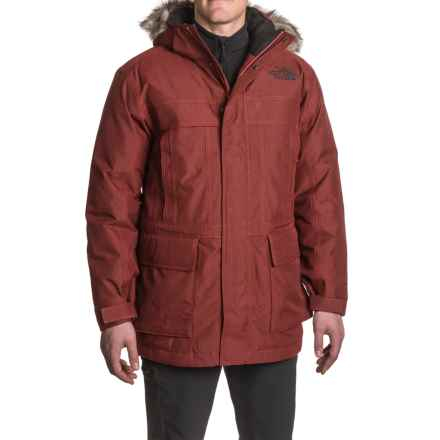 The North Face McMurdo 2 Down Parka - 550 Fill Power (For Men) in Cardinal Red Heather - Closeouts