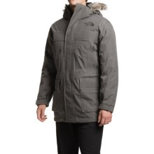 The North Face McMurdo Down Parka II - Waterproof, 550 Fill Power (For Men) in Graphite Grey Heather - Closeouts