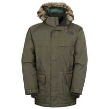 The North Face McMurdo Down Parka II - Waterproof, 550 Fill Power (For Men) in New Taupe Green - Closeouts