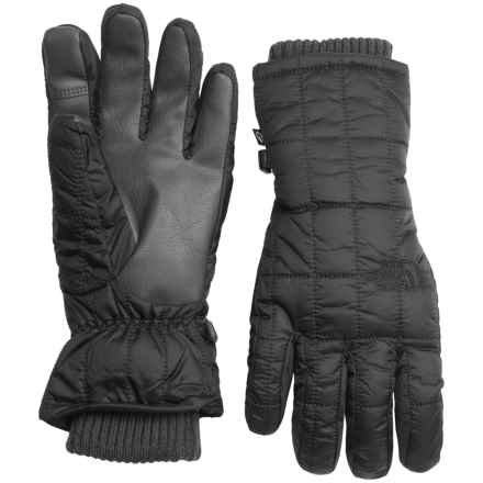 The North Face Metroplis Etip® Gloves - Insulated (For Women) in Tnf Black - Closeouts