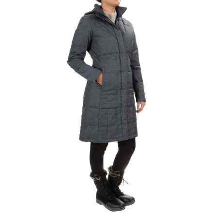 The North Face Metropolis Down Parka - 550 Fill Power (For Women) in Graphite Grey Heather - Closeouts