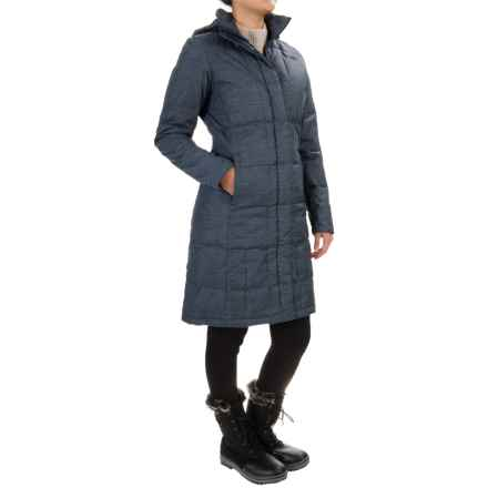 The North Face Metropolis Down Parka - 550 Fill Power (For Women) in Urban Navy Heather - Closeouts