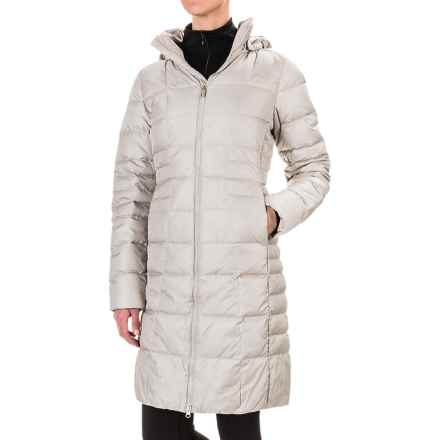 The North Face Metropolis Hooded Down Parka - 550 Fill Power, Water Resistant (For Women) in Dove Grey - Closeouts