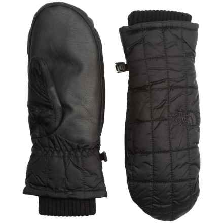 The North Face Metropolis Mittens - Insulated (For Women) in Tnf Black - Closeouts