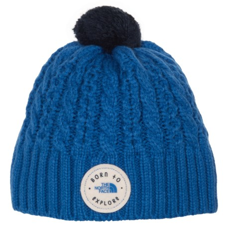 The North Face Minna Beanie (For Infants) in Jake Blue