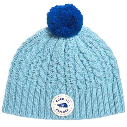 6dc000fb8a9 The North Face Minna Beanie (For Infants) in Sky Blue Bright Cobalt Blue